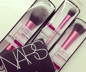 nars, Brushes, and makeup image