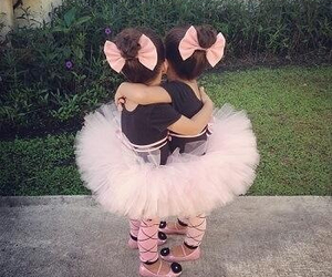 cute, baby, and pink image