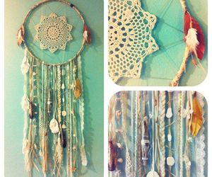dreamcatcher, diy, and dream catcher image
