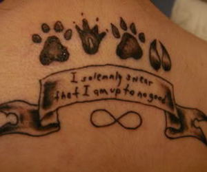 harry potter, tattoo, and harry potter tattoo image