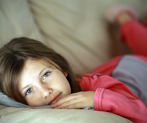 little girl and cute image