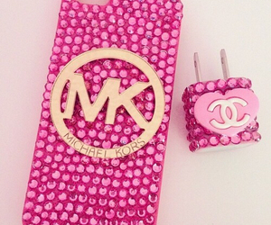 case, chanel, and pink image