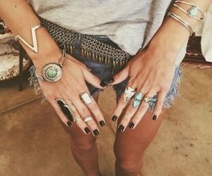 accessories, style, and boho image