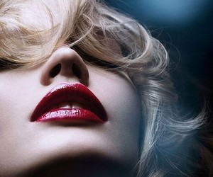 lips, red, and beauty image