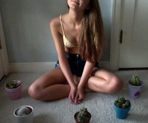 cactus, indie, and summer image