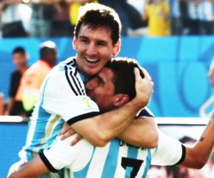 argentina, world cup, and messi image