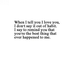 beautiful, I Love You, and quotes image