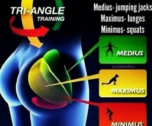exercise, squats, and jumping jacks image
