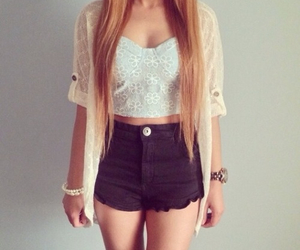 adorable, shorts, and cute outfit image