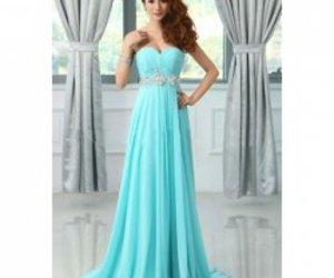 azul, blue, and dress image