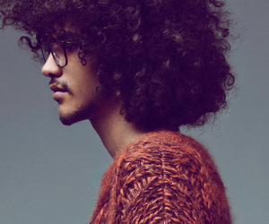 Afro, boy, and curly hair image