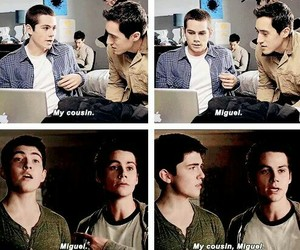 miguel, teen wolf, and stiles image