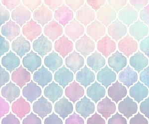 background, blue, and pink image