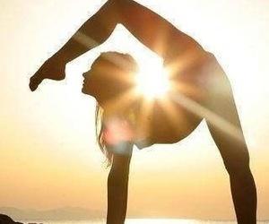 boho, free people, and yoga image