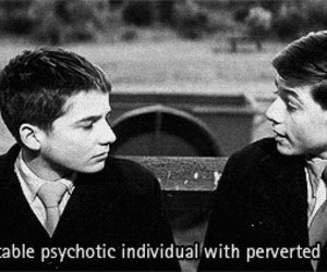 perverted, psychotic, and unstable image