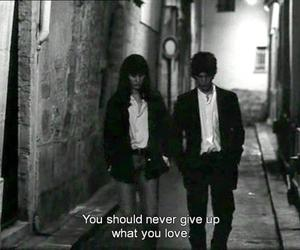 give up, les amants reguliers, and movies image