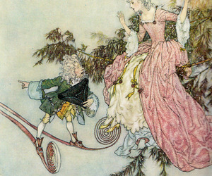 Edmund Dulac and sleeping beauty image