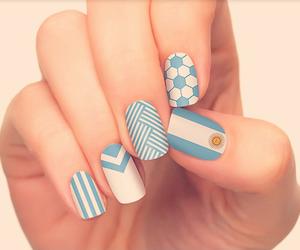 nails, argentina, and football image