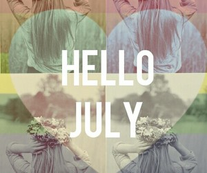hello, hello july, and july image
