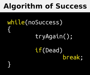 code, success, and programmer image