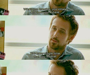 ryan gosling, half nelson, and quote image