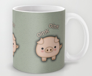 bacon, fat pig, and cute pig image
