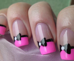 bows, pink, and love it image