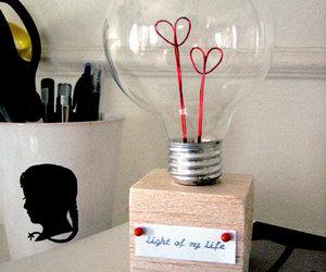 love, diy, and light image