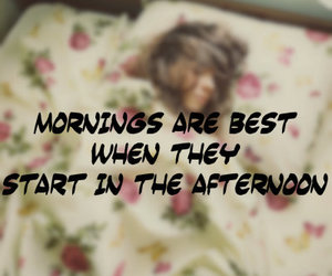 afternoon, girl, and morning image