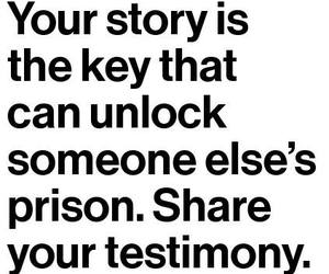 key, quote, and share image