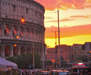colosseo, roma, and rome image