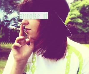 dope, weed, and smoke image