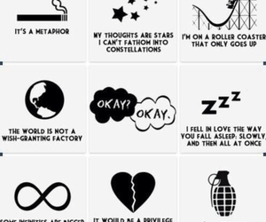 tfios, the fault in our stars, and metaphor image