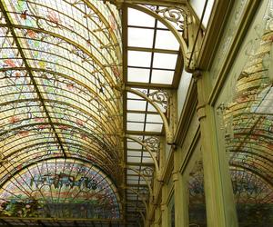 Art Nouveau, belgium, and winter garden image