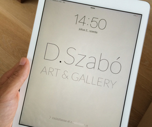 apple, painting, and ipad air image