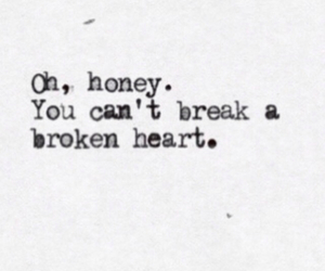 heart, broken, and quotes image