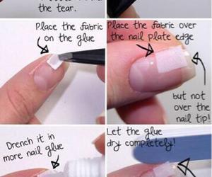 nails, diy, and tutorial image