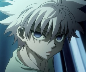 hunter x hunter and killua zoldyck image