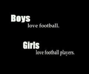 girl, boy, and football image