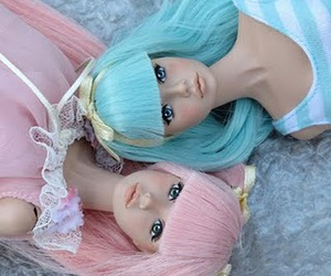 doll, barbie, and pink image