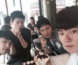 exo, exok, and sehun image