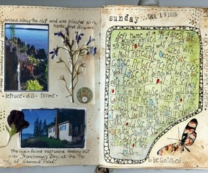 adventure, journal, and travel image