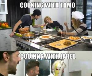 30 seconds to mars, cooking, and jared leto image