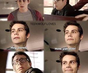 teen wolf, stiles, and jared image