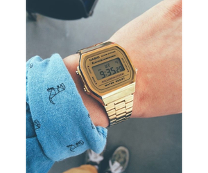 casio, fashion, and watch image