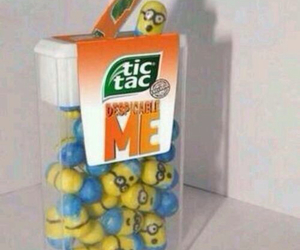 blue, minions, and candy image