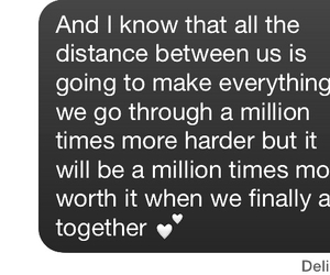 distance, long distance, and Relationship image