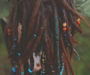 hair, dreads, and dreadlocks image