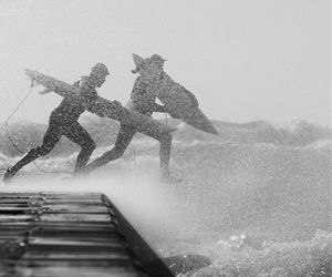 surf, summer, and surfing image