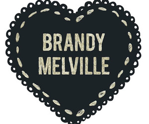 brandy melville, heart, and brandy image